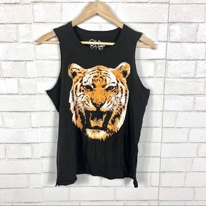 NEW Chaser Tiger Graphic Tank Top